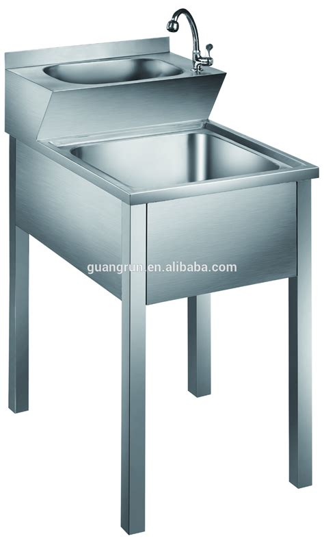 free standing kitchen sinks two tiers free standing heavy duty commercial stainless