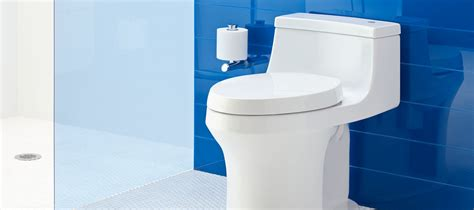Toilet No Plumbing Required by Vitreous China Toilets Bidets Bathroom Kohler