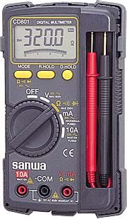 Digital Multimeter Cd800a photo sanwa multimeter