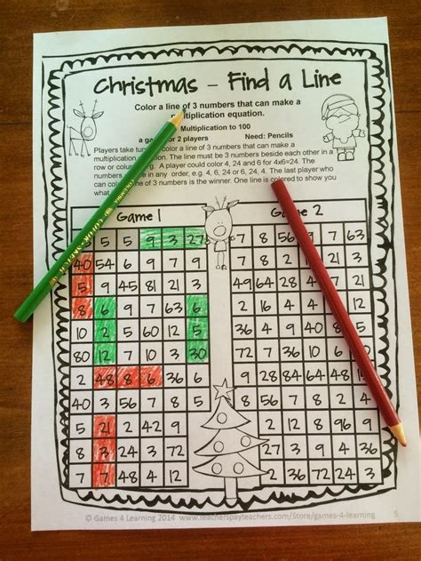 printable math board games for high school christmas math games high school christmas math and on