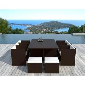 table rabattable cuisine table de jardin design pas