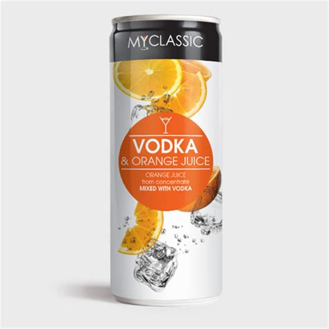 my range myclassic vodka orange juice