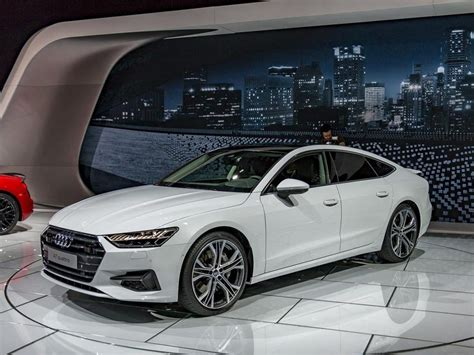 2019 audi a7 debut 2019 audi a7 makes auto show debut kelley blue book with
