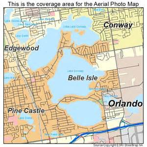 aerial photography map of isle fl florida