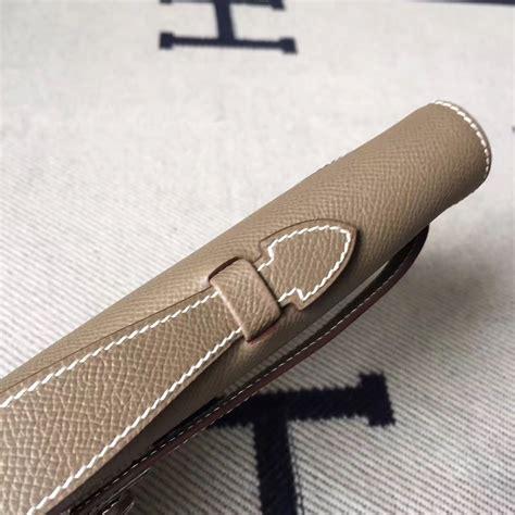 Hermes Lindy Size 31cm stitching hermes c81 etoupe grey epsom leather