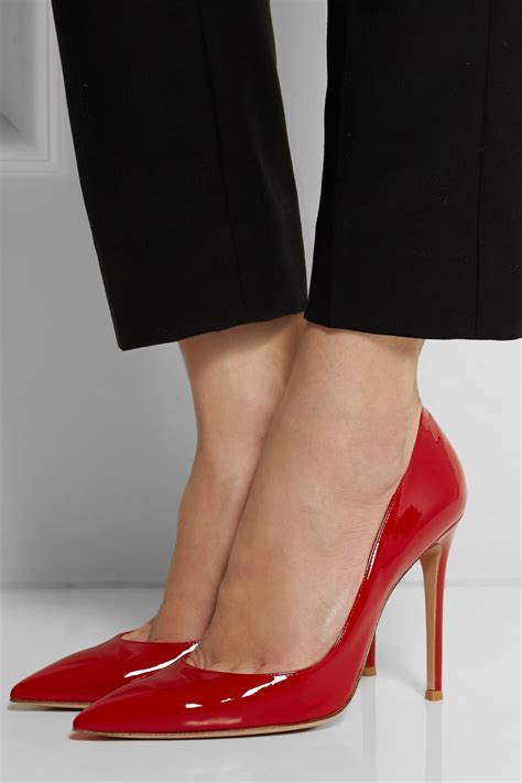 Patent Pumps lyst gianvito patent leather pumps in
