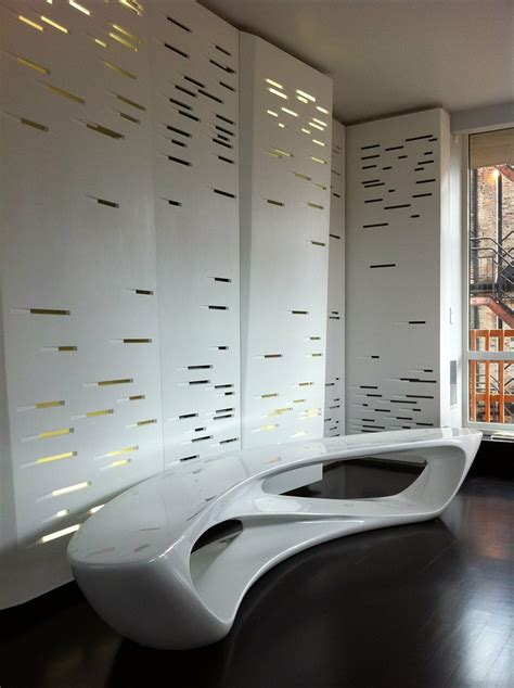 corian wall perforated  backlit corian wall panel