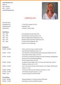 7 Lebenslauf Verfassen Resignation Format