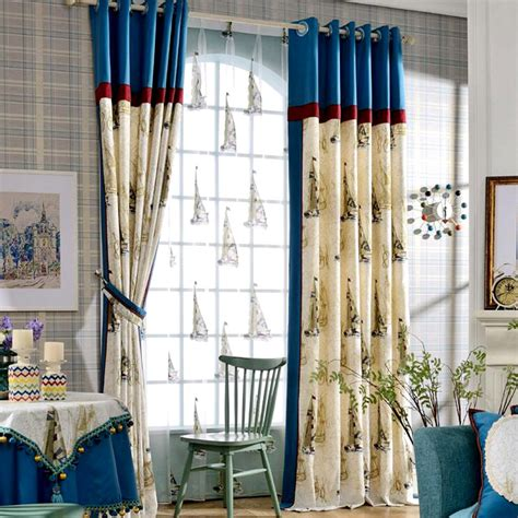 Nautical Curtain Ideas Ideas with Ideas Nautical Bedroom Curtains For Kid Room