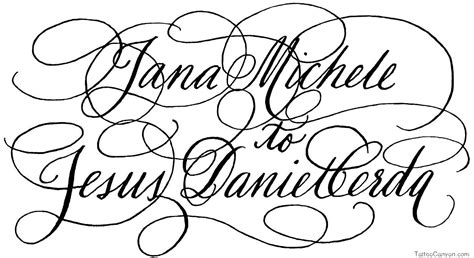 tattoo fonts names calligraphy free calligraphy font file page 1 newdesignfile
