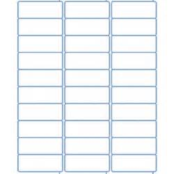 best photos of blank label templates 30 per sheet return