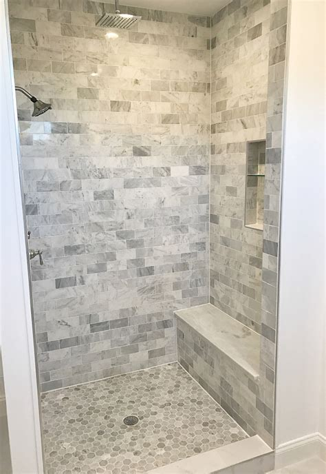 marble tile shower category decorating ideas home bunch interior