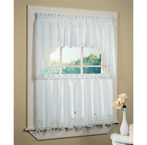 white bathroom window curtains a creative