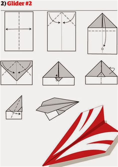 Paper Airplane Fold - 12 ways to fold a paper plane