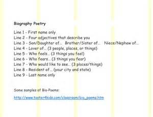 Bio Poem Template by Worksheet Bio Poem Worksheet Fiercebad Worksheet And