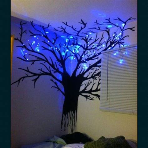 Talk About A Cool Night Light House In The Future Cool Tree Lights