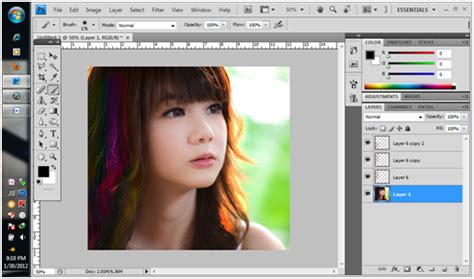 adobe photoshop hair tutorial adobe photoshop tutorials multi colored plastic like