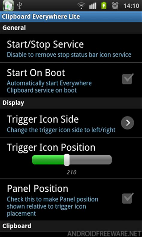 clipboard on android everywhere clipboard lite free android app android freeware