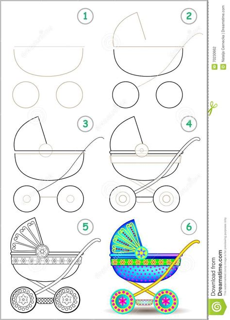 Autos Malen Leicht Gemacht by Page Shows How To Learn Step By Step To Draw A Baby
