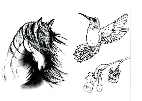 horse head tattoo designs designs