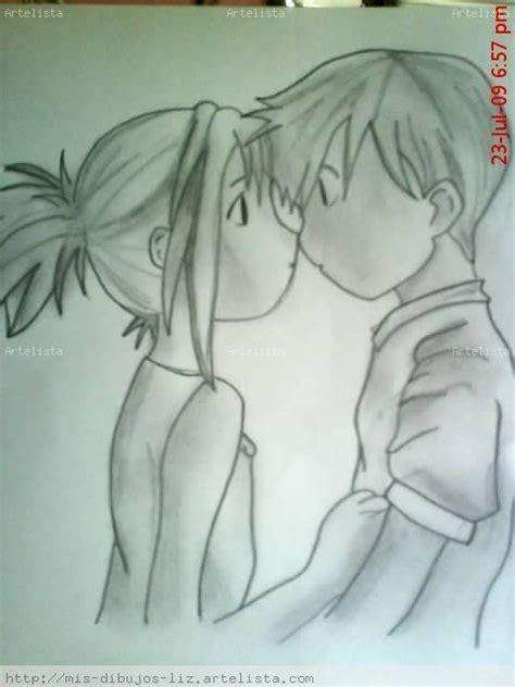 imagenes a lapiz de parejas besandose dibujos a lapiz de novios abrazados imagui