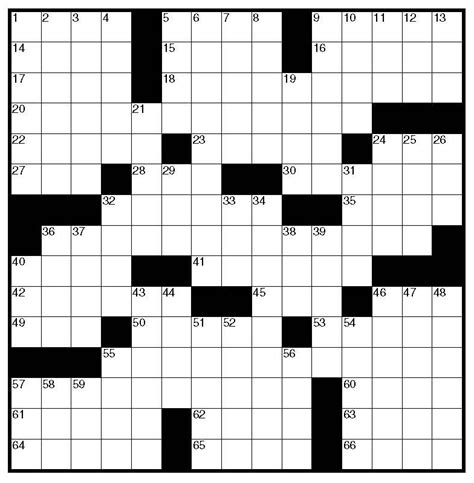 crossword puzzle template 6 best images of free printable blank crossword puzzles