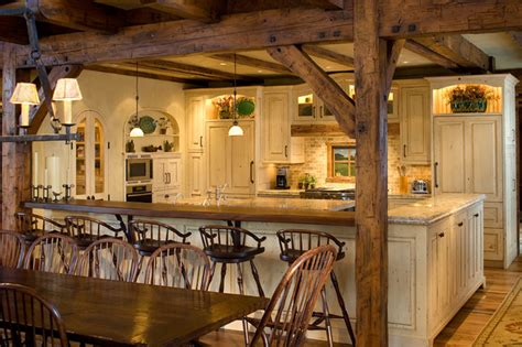 a frame kitchen ideas timber frame kitchen