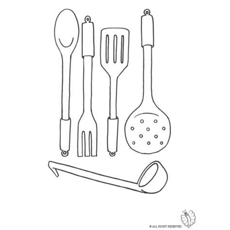 immagini cucinare disegno di cucinare da colorare per bambini