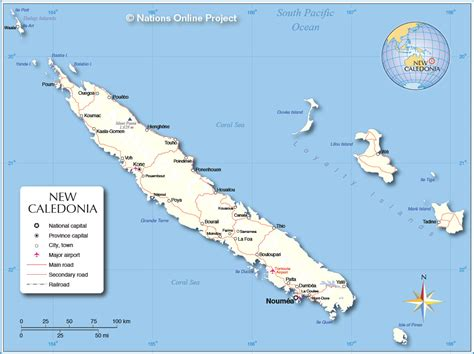 new caledonia world map new caledonia map my