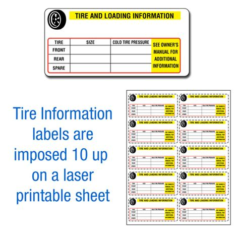 tire information labels buy manufacturer certificate  origins