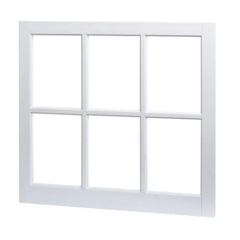 tafco windows 31 in x 29 in 6 lite fixed barn sash