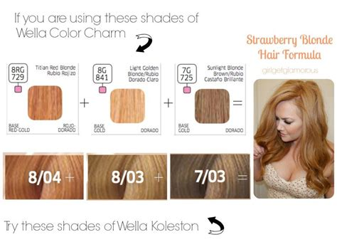 brands of srawberry blonde color shadeshair wella strawberry blonde vs l oreal strawberry blonde