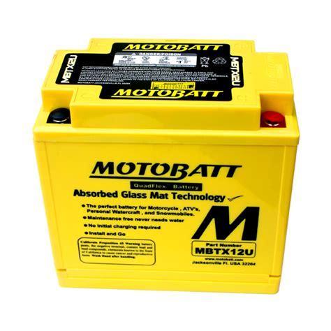 Motorrad Batterie Pflege by Motobatt Mbtx12u Agm Motorrad Batterie Ersetzt Ytx14 Bs