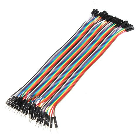 Jumper To 40 Pin 20 Cm 40 stk 20cm han til jumper kabel for bl a arduino