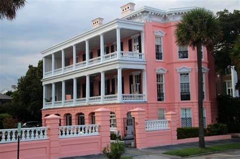 the pink house charleston pink house picture of battery white point gardens
