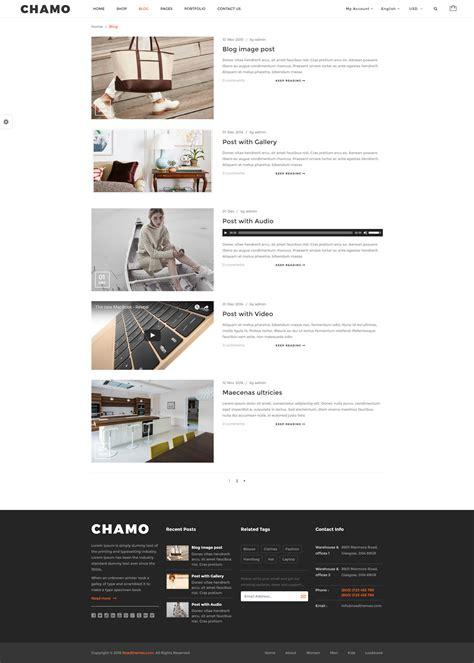 woocommerce theme listview chamo responsive woocommerce wordpress theme by