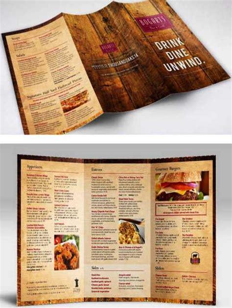 design untuk menu 30 desain brosur restoran untuk promosi dan marketing