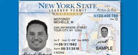 New York State License Document Number