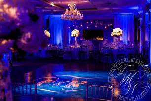 Winter Dance Decorations - bold elegant wedding lighting and draping at the bernards inn bernardsville new jersey