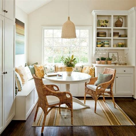 dining nook 20 small eat in kitchen ideas tips dining chairs