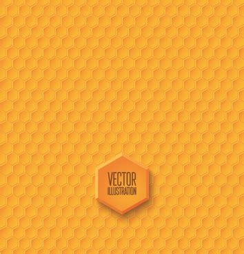 yellow pattern ai honeycomb free vector download 99 free vector for