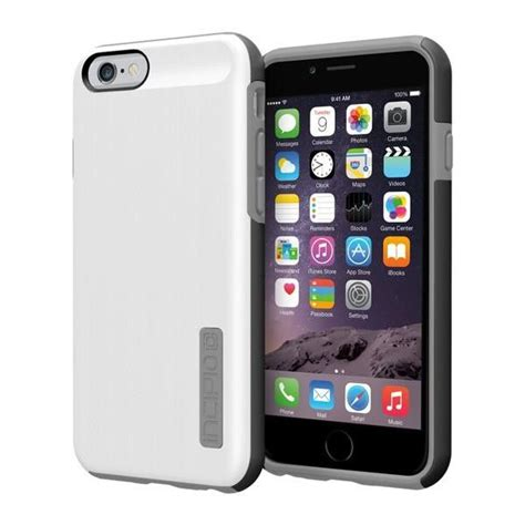 incipio iphone 6 6s dual pro shine white grey grey products and apple iphone 6