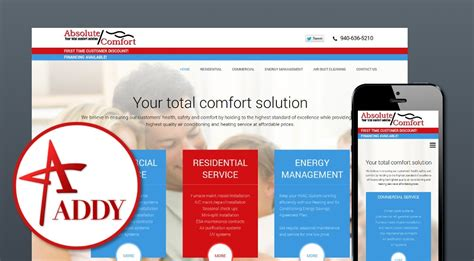 absolute comfort digital and conventional advertising wichita falls texas