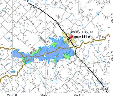 somerville texas map lake somerville map