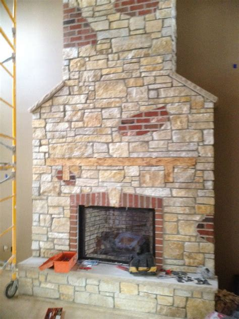 indoor fireplace from thin veneer chicago by adv