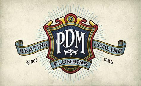 design a retro logo retro and vintage style logo design for plumbing heating