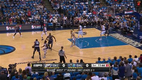 you aborted the video playback nba playoffs 1st round gm 4 oklahoma city thunder vs