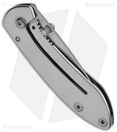 frame lock buck scholar frame lock knife stainless steel 2 quot polished