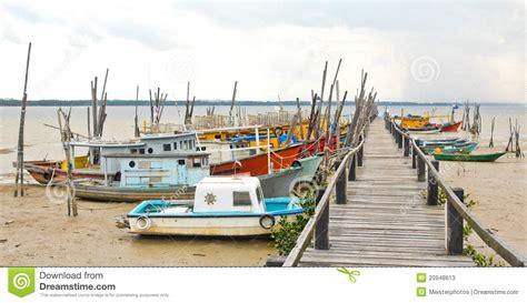 fishing boat for sell malaysia fishing boats at penyabong malaysia stock photos image