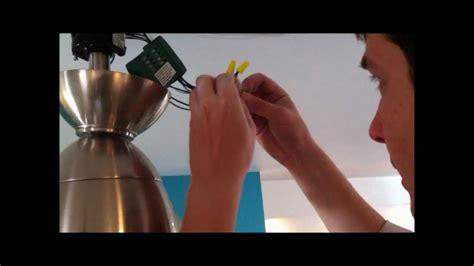 Installing Ceiling Fan Remote by Ceiling Fan Remote Part 2